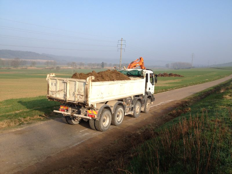 vichard freres camion 8x4 4 Ressource Humaine