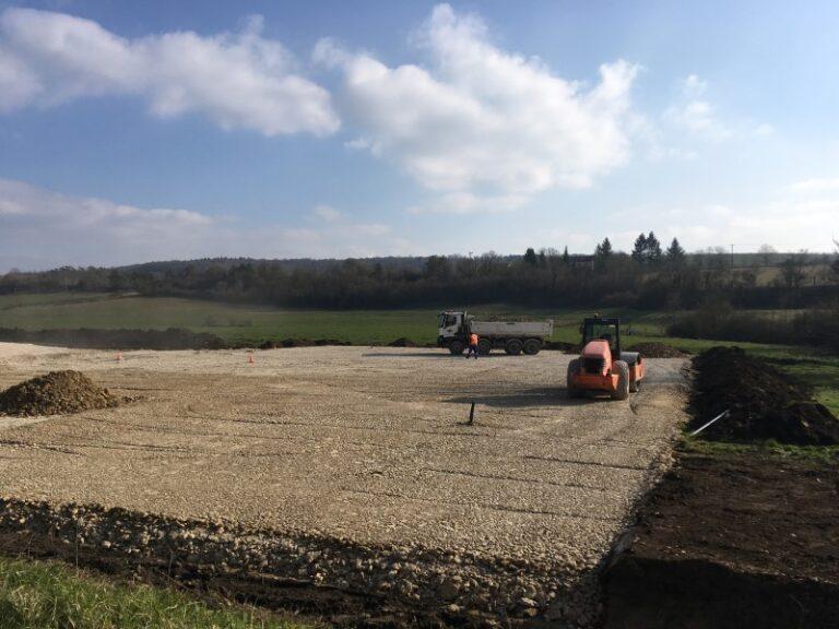 vichard freres plateforme 52 Création d'une plateforme agricole