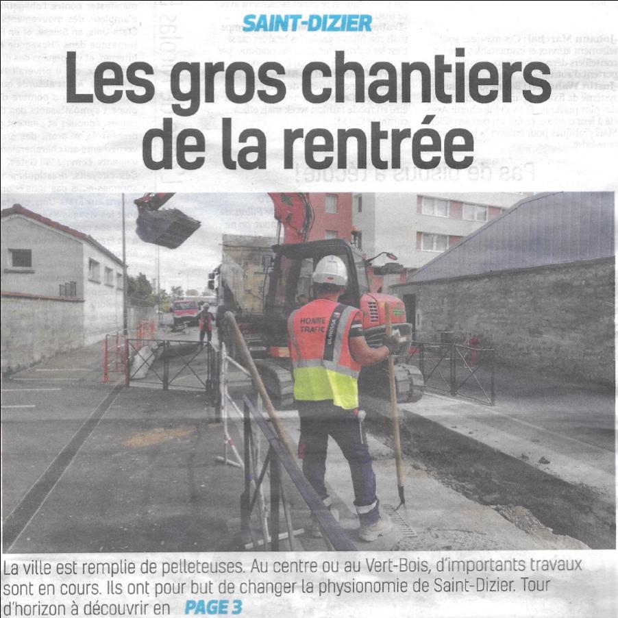 article Article La Voix de la Haute-Marne du 04.09.2020